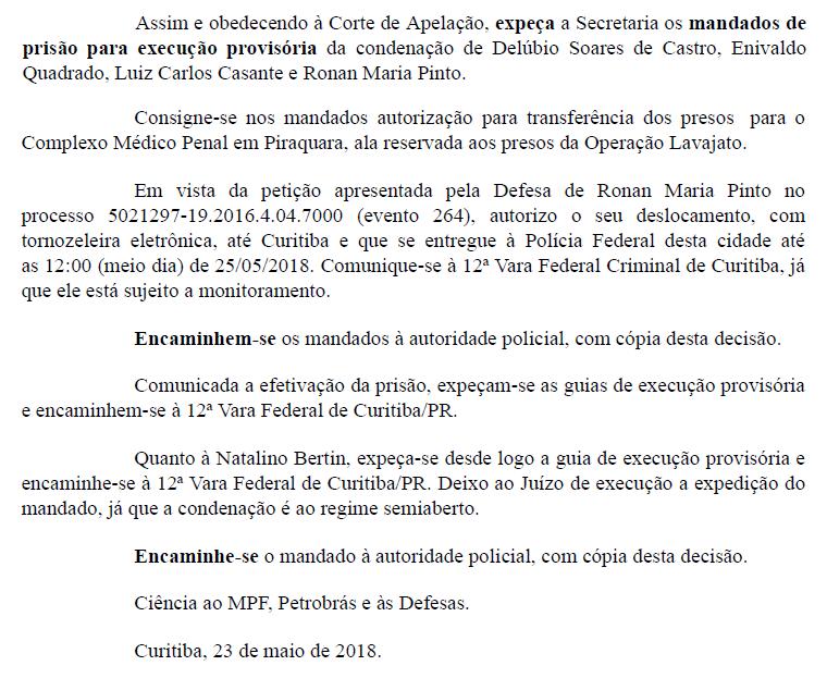 delubio preso - Sérgio Moro decreta a prisão de Delubio Soares, ex-tesoureiro do PT - minuto barra